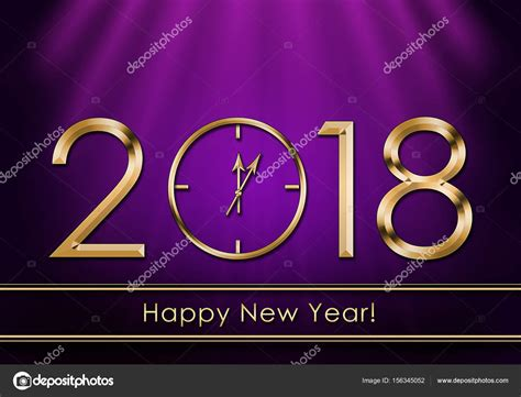 happy new year rubber st feliz ano novo 2018 ano novo rel 243 gio stock photo