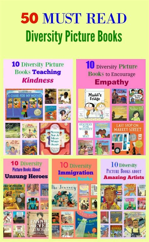 diverse picture books 100 must read diversity picture books pragmaticmom