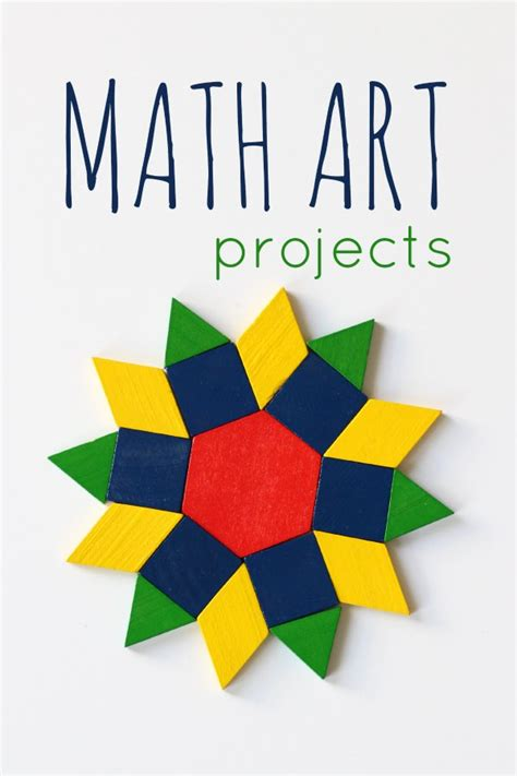 math craft projects 12 math projects for to try