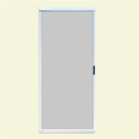patio door screens home depot unique home designs 36 in x 80 in ultimate white metal