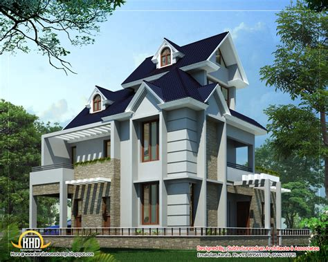 and house plans unique home design 2012 sq ft kerala home design and floor plans