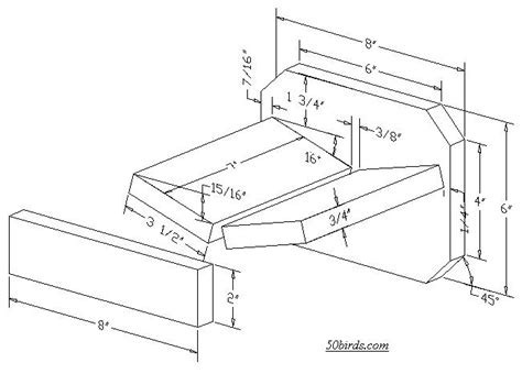 mourning dove house plans dove bird house plans woodwork
