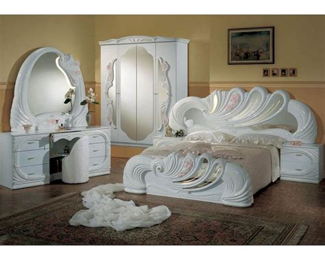 made in italy bedroom furniture classic bedroom set made in italy white finish 44b8411w