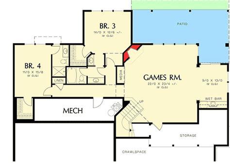 prairie style floor plans modern prairie style home plan 6966am architectural designs house plans