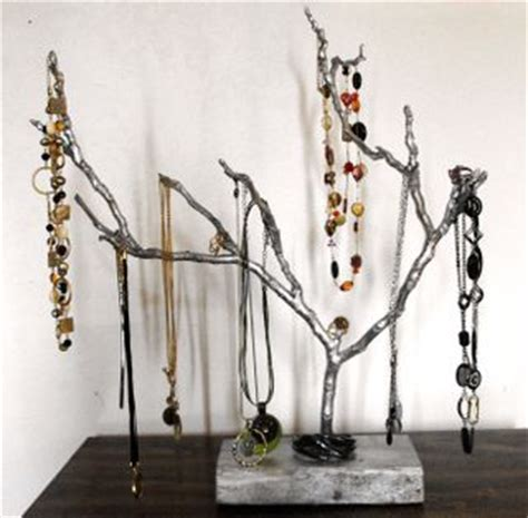 how to make a jewelry tree craft with me jewelry tree