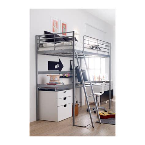 ikea loft bed sv 196 rta loft bed frame silver colour 90x200 cm ikea