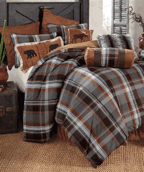 cabin comforter sets rustic bedding sets lodge log cabin bedding