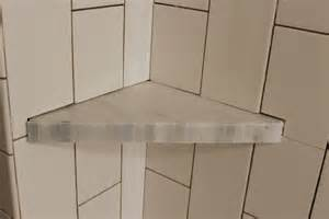 bathroom shower shelves how to install a tile shower corner shelf