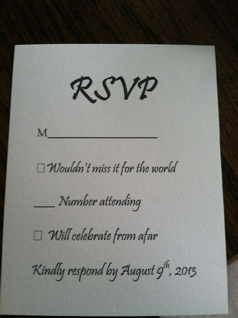 how to make rsvp cards for wedding discover and save creative ideas