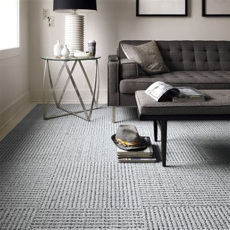 carpet squares for rooms settle modern living room chicago by flor