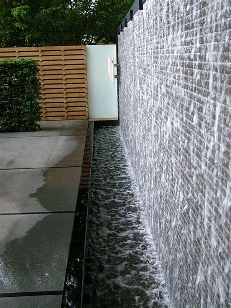 garden feature wall outdoor water features on outdoor water