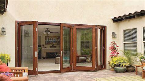 sliding folding patio doors anderson folding patio doors