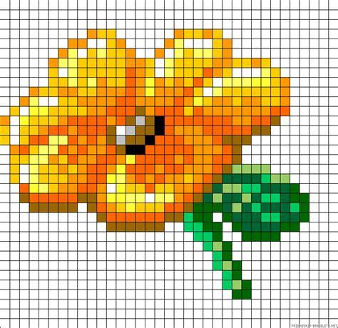 perler bead flower patterns flower perler bead pattern perler