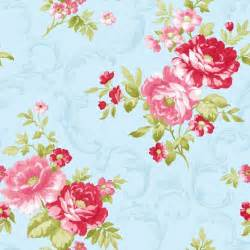 shabby chic wall paper shabby chic vintage floral wallpaper blue pink