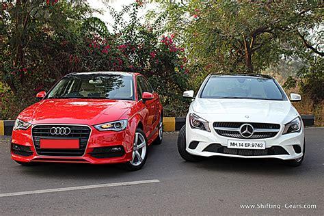 Mercedes Vs Audi by Mercedes Vs Audi A3 Shifting Gears