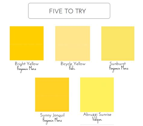 paint colors for yellow 5 bold colors for the front door emily a clark