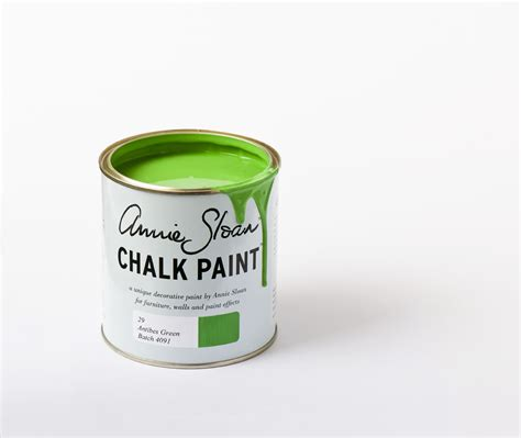 Antibes Green 1l Chalk Paint By Sloan The Flower