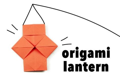 how to make a origami lantern 17 best ideas about origami lantern on diy