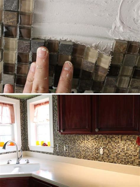 low cost kitchen backsplash ideas desktop image 15 diy ideas how to make a fancy low cost kitchen backsplash