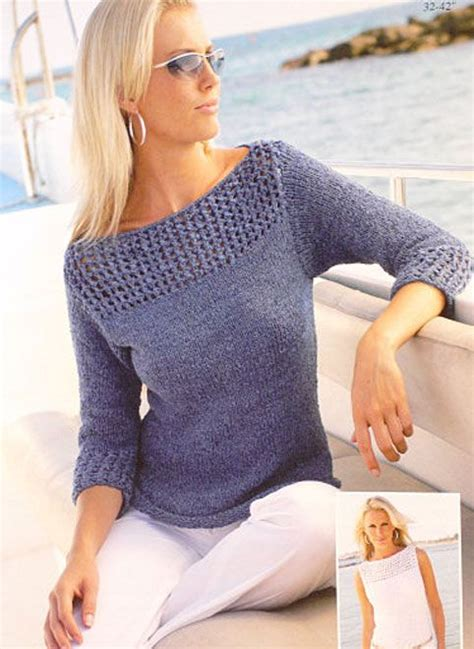 free boat neck sweater knitting pattern the world s catalog of ideas