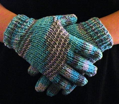 what can i knit how to loom knit gloves loom