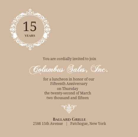 company invitation wording business anniversary invitation wording ideas etiquette tips