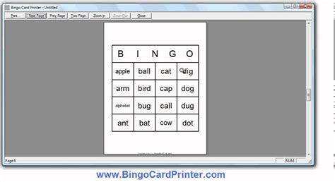 how to make bingo cards 4x4 bingo card maker software how to create bingo cards