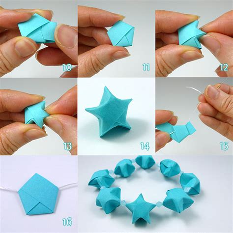 origami things to make lucky folding steps by all things paper via