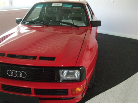 Audi Sport Quattro For Sale by 1985 Audi Sport Quattro German Cars For Sale