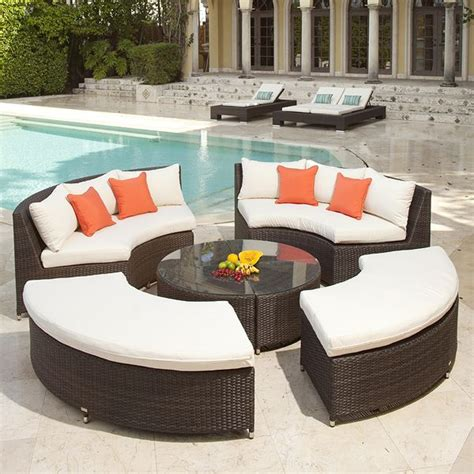 circular outdoor furniture outdoor furniture circular roselawnlutheran