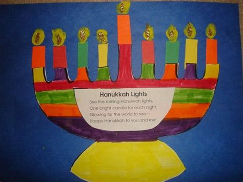 hanukkah arts and crafts for hanukkah craft and information around the