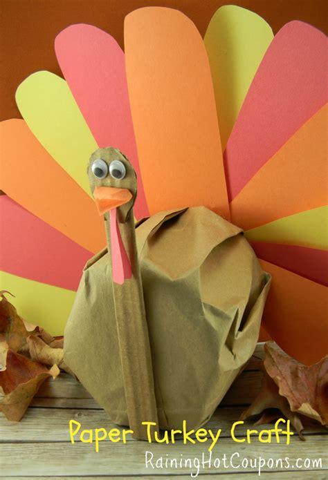 diy thanksgiving crafts diy paper turkey craft