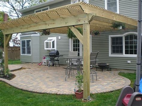 how to build a pergola attached to house how to build a pergola attached to house climbing