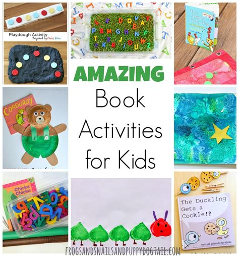 picture book activities amazing book activities for fspdt