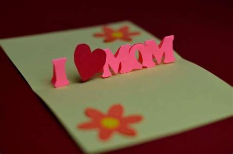 how to make 3d mothers day cards festa della mamma realizzare un biglietto pop up foto