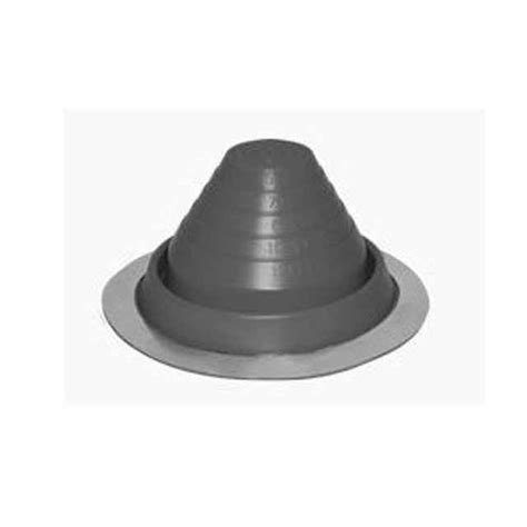 square rubber st 5 roofjack silicone pipe boot gray