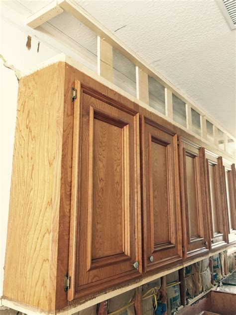 Crown Molding On Kitchen Cabinets Pictures by How To Make Ugly Cabinets Look Great Designed