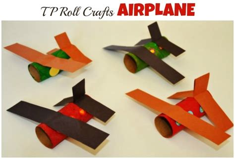 paper airplane craft toilet paper roll airplanes and crafts