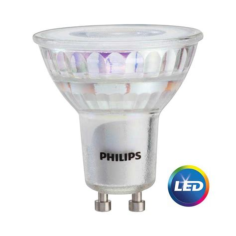 review led light bulbs philips 50w equivalent bright white mr16 gu10 led light