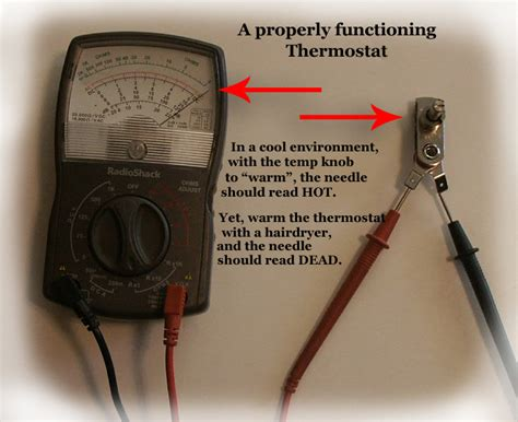 how to test thermostat test