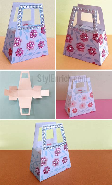 diy gift bags diy paper gift bag how to make small gift bag for your