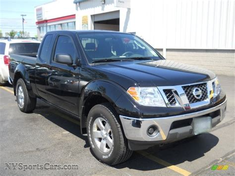 2010 Nissan Frontier Se by 2010 Nissan Frontier Se V6 King Cab 4x4 In Black
