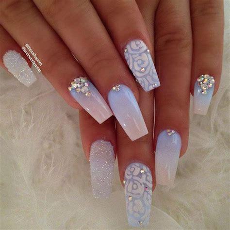 acrylic paint nail ideas 25 best wedding acrylic nails ideas on