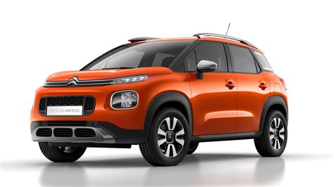 C3 Citroen by Citroen Reveals Funky New C3 Aircross Small Crossover 129