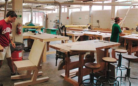 woodworking colleges college of architecture arts and humanities woodshop