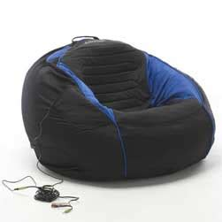Bean Bag Chairs With Speakers by Gaming Bean Bag With Speakers