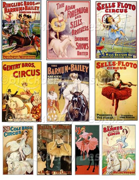 decoupage posters decoupage paper collage sheet circus vintage circus