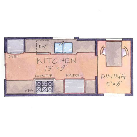 small kitchen floor plans galley home design living room january 2014