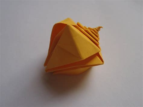 origami snail spiral snail shell toshikazu kawasaki happy folding