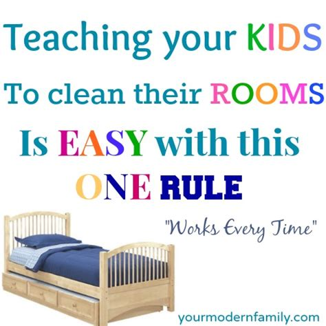 how to keep your room clean teaching a child to keep their room clean your modern family
